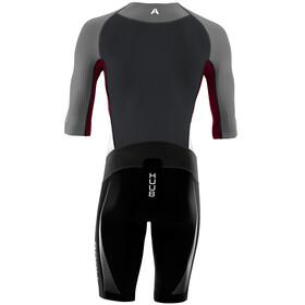 HUUB Anemoi Aero Tri Suit Heren, zwart/grijs
